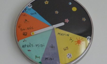 DIY – Un outil pour aider les enfants à se repérer dans la journée